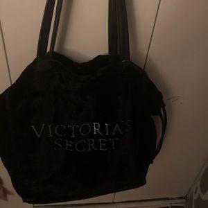 Victoria secret velour bag